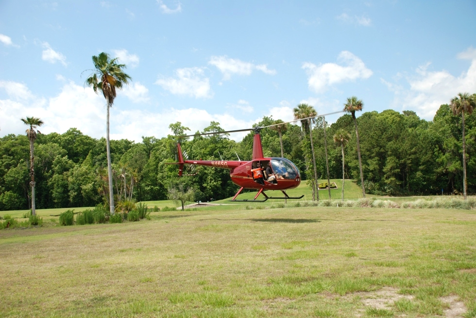 Golf Ball and Easter Candy Drops  Red Dog Helicopters